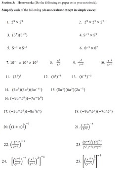 Exponentials, Radicals, Surds, Applications and Solutions