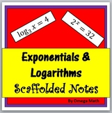 High School: Exponentials and Logarithms