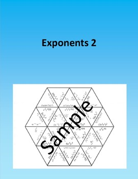 Exponents 2 - Math puzzle