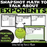 Exponents Activity