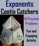 Laws of Exponents Practice Activity/ Evaluating Expressions 5th 6th Grade
