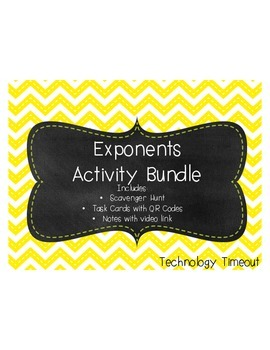 Exponents Activity Bundle