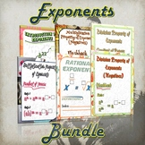Exponents Bundle - (Guided Notes and Practice)