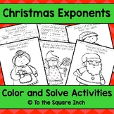 Exponents Color and Solve