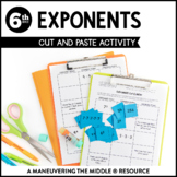 Exponents Cut and Paste