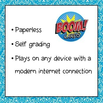 Exponents Digital Interactive Boom Cards Distance Learning