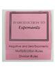 Exponents Flipbook