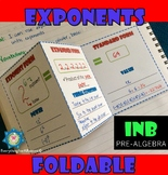 Exponents Foldable