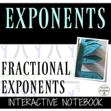 Rational Exponents Interactive Notebook Organizers UPDATED