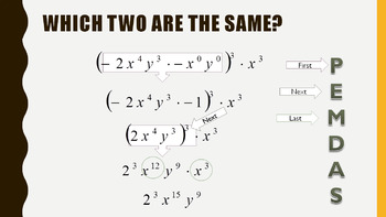 Exponents - From Basics to Negatives