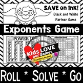 Exponents Game: 5th Grade Math Game