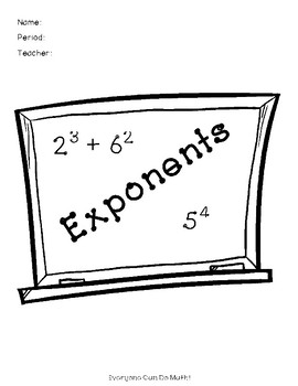 Exponents: Guided Notes