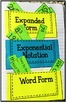 Exponents - Math Interactive Notebook
