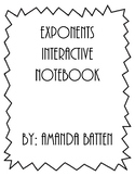 Exponents Interactive Notebook