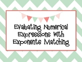 Exponents Matching