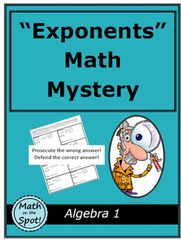 Exponents Math Mystery