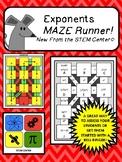 Exponents Maze