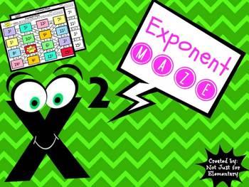Exponents: Maze Activity