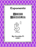 Exponents Mini Bundle-6.EE.1