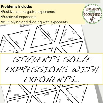 Exponents Puzzle Activity