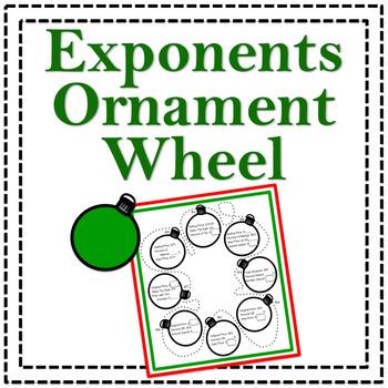 Exponents Ornament Wheel