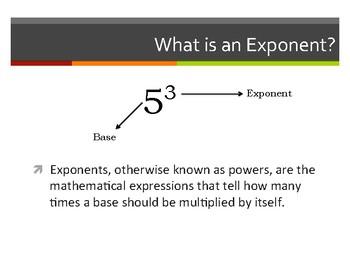 Exponents Part 1