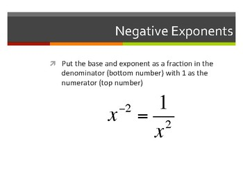 Exponents Part 2