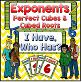 Exponents Perfect Cubes & Cubed Roots
