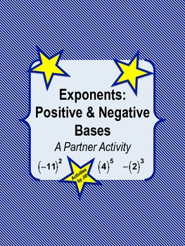 Exponents: Positive and Negative Bases