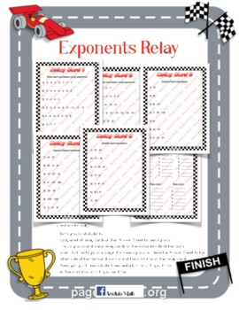 Exponents Relay