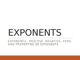 Exponents Review Game