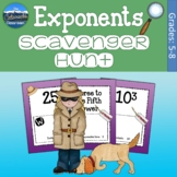 Exponents Game   Exponents Scavenger Hunt