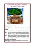 Exponents, Square Roots & Scientific Notation Unit Plan