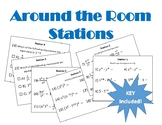 Exponents Stations Around the Room PDF
