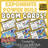 Exponents - The Power Rule - Negatives Included - 2 Levels