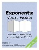 Exponents: Visual Models: Bases of 6