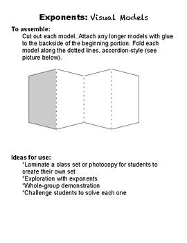 Exponents: Visual Models: Bases of 7