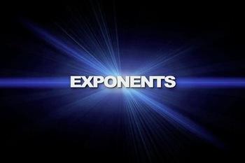 Exponents - Vocabulary