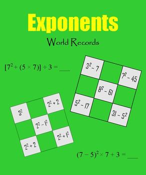 Exponents:  World Records