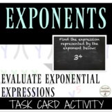 Exponent write equivalent multiplication expressions task