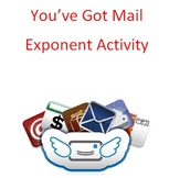Exponents - You've Got Mail Activity