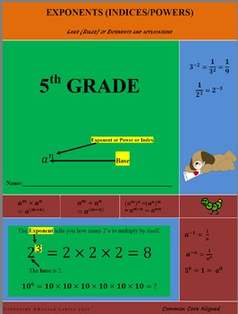 Exponents and Applications including an Assessment with Solutions