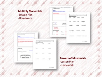 Exponents and Exponential Functions Lesson Plan Bundle