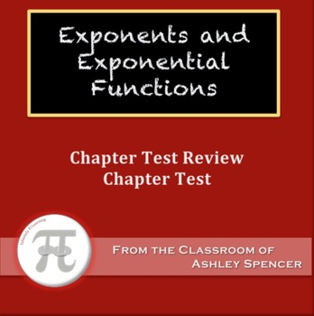 Exponents and Exponential Functions Test