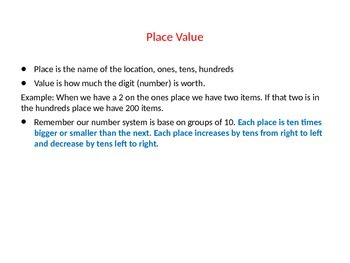 Exponents and Place Value for 5th Graders