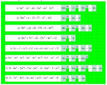Exponents and Polynomial Operations Chapter Bundle - Google Classroom