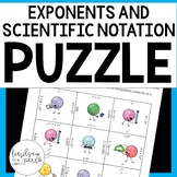 Exponents and Scientific Notation Puzzle