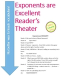 Exponents are Excellent Reader's Theater - Common Core Ali