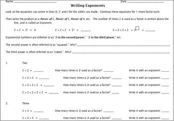 Exponents with Cubes