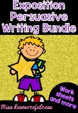 Persuasive Writing - Exposition Bundle